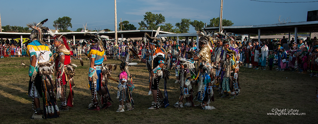 2014 Crow Nation Fair and Rodeo Day 6 Closing Ceremonies
